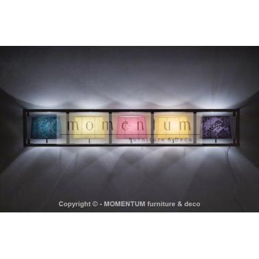 Wall Lamp Parecchi Horizontal Chrome