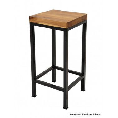 bar stool in acacia