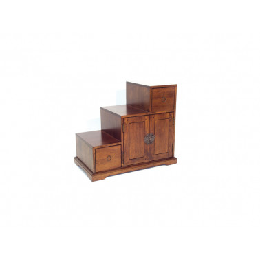 China stairs double side 4 drawers