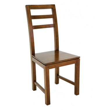 dining chair in solid hevea...