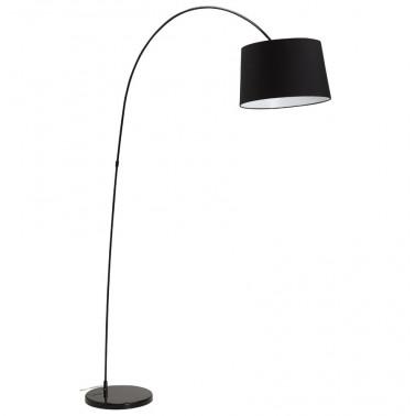 Floor lamp black swan