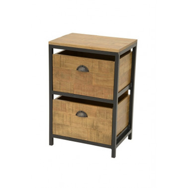Chest of 2 drawers,...
