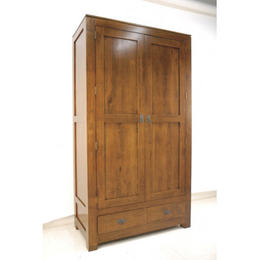 Wardrobe with 2 Doors 2...