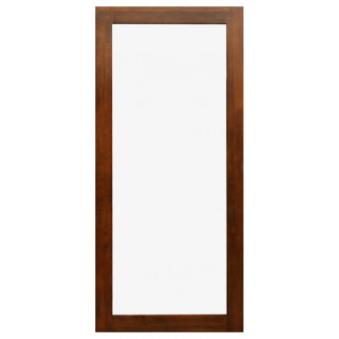 mirror with hevea frame