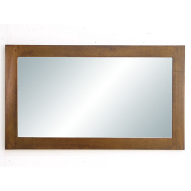 mirror with hevea frame,...
