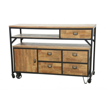 Center table, 5 drawers, 1...