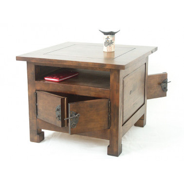 Side table with 2 doors,...