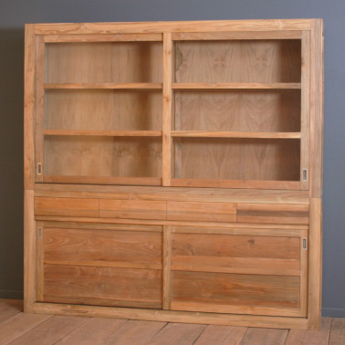 Cupboard with 4 sliding...