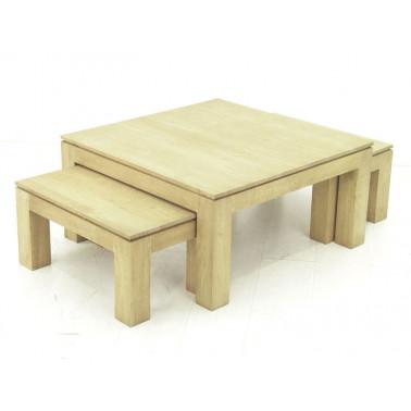 Low tables set of 3 pcs