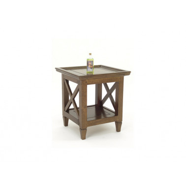 side table, X design