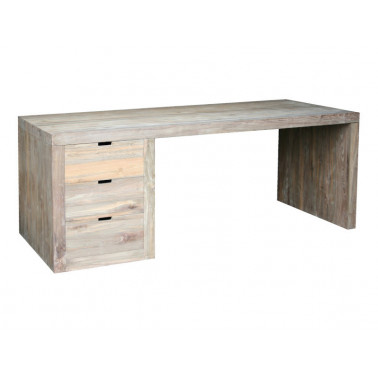Contemporary desk with drawers