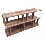 Side Rack in Reclaimed teak wood