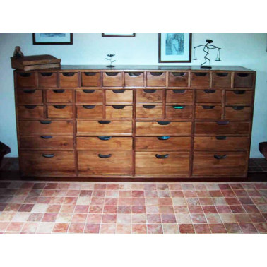 Old Chest of 39 Drawers