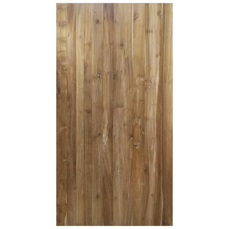 Top in reclaimed teak wood