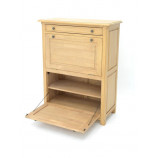 Shoes organizer en solid hevea wood