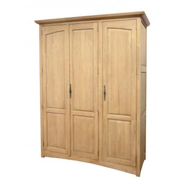 Wardrobe 3 Doors beveled doors pannels