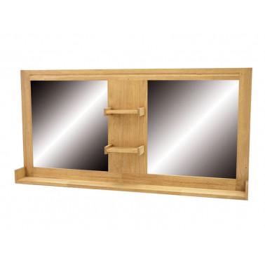 Miroir avec étagères, pour...