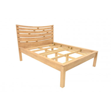 Bed with slats bedhead