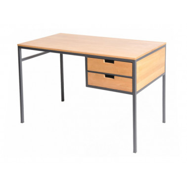 Desk with metal legs, 2...