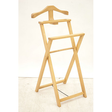 Foldable valet stand