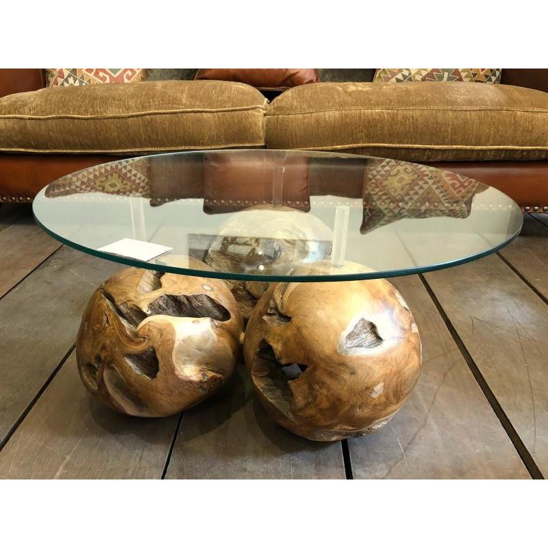 Coffee table 3 balls