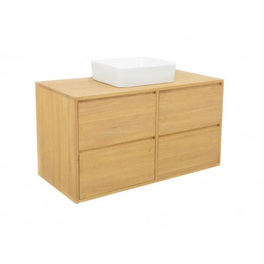 Washbasin cabinet with 4 drawers