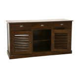 Sideboard 3 doors with shutters & 3 drawers