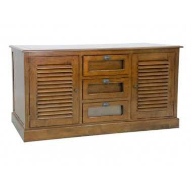 Sideboard 3 seed drawers & 2 doors with shutters