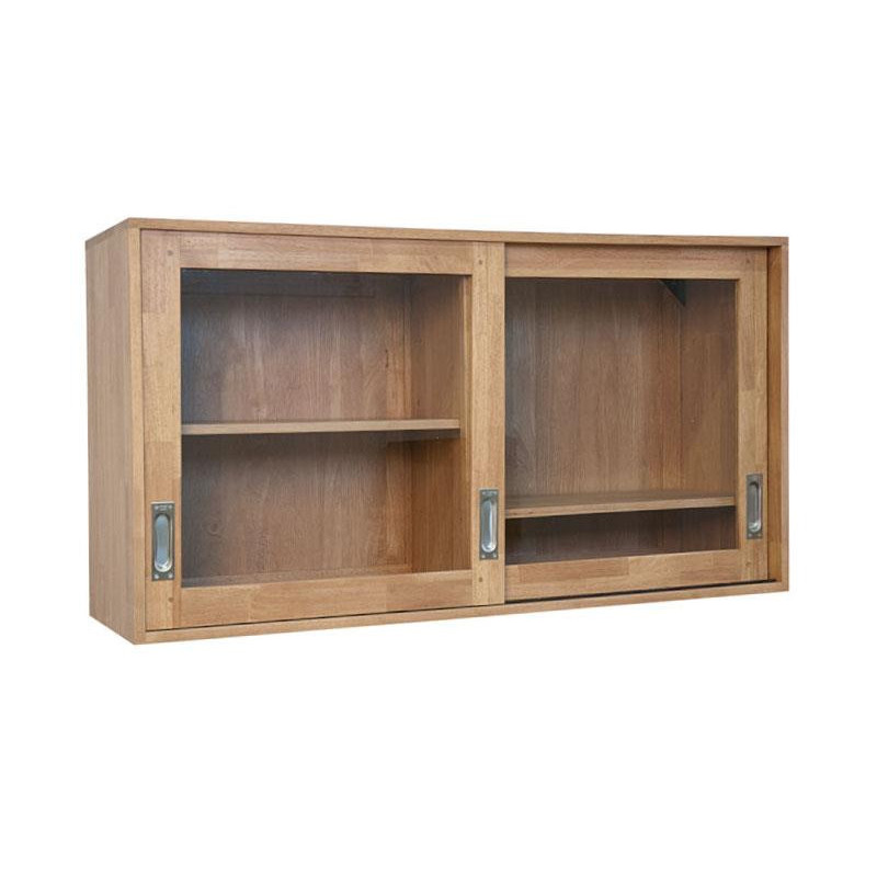 Kitchen wall cabinet 2 glazed doors