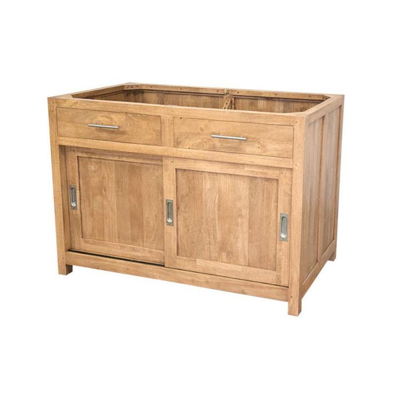 Kitchen under sink storage cabinet