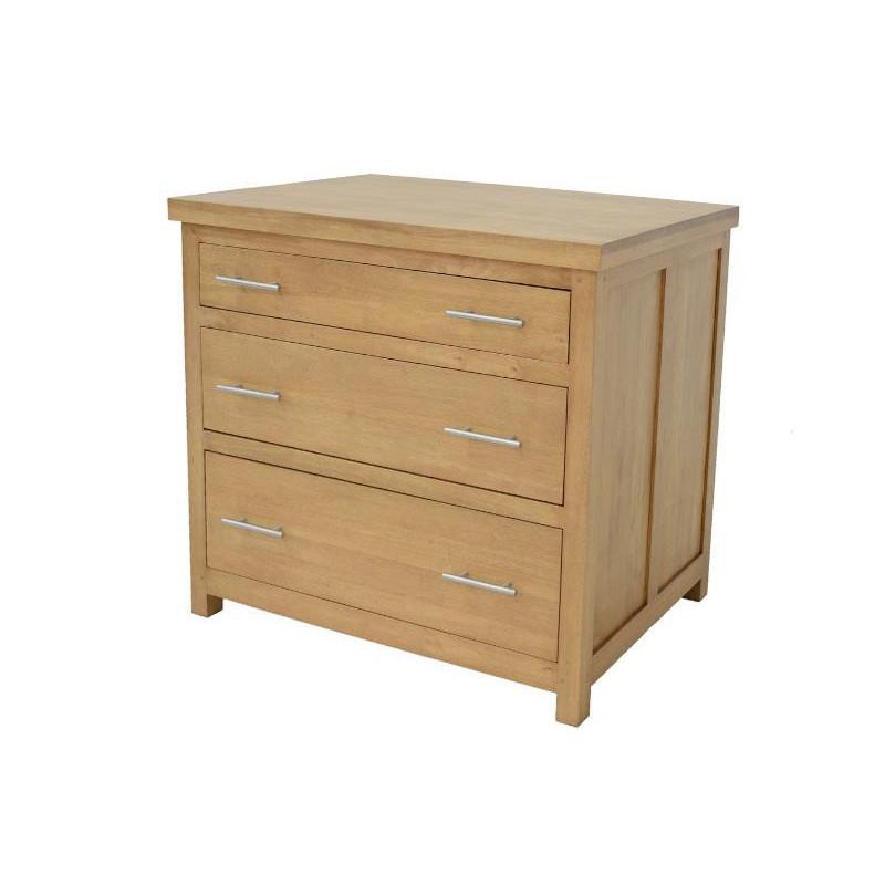 Kitchen cabinet 3 drawers (wooden worktop)