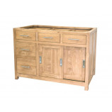 Kitchen cabinet 2 doors 5 drawers (without worktop)