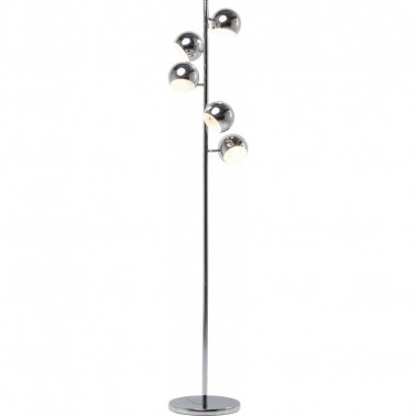 FLOOR LAMP CALOTTA CHROME 5 LITE KARE DESIGN