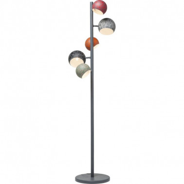 FLOOR LAMP CALOTTA ANTICO 5 LITE KARE DESIGN