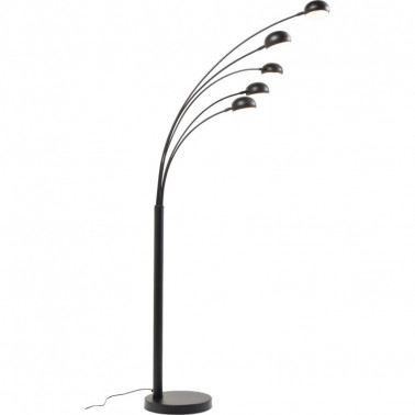 Floor lamp Five fingers black KARE DESIGN