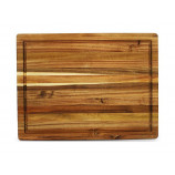 Large cutting board with groove
