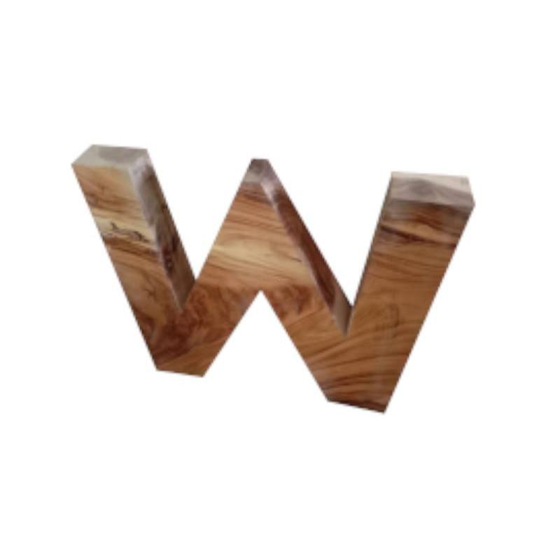 acacia wooden legs set W