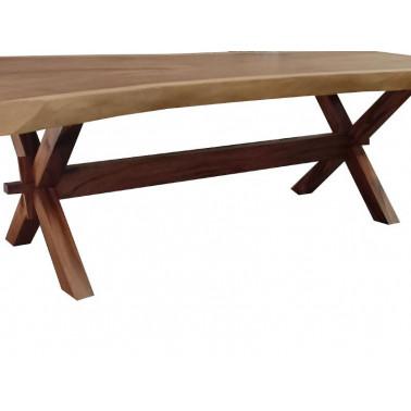 Acacia wooden leg X