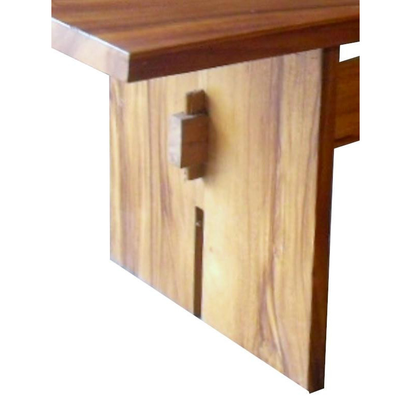 Acacia wooden table leg SOLID PLATE