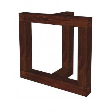 acacia wooden legs set T frame