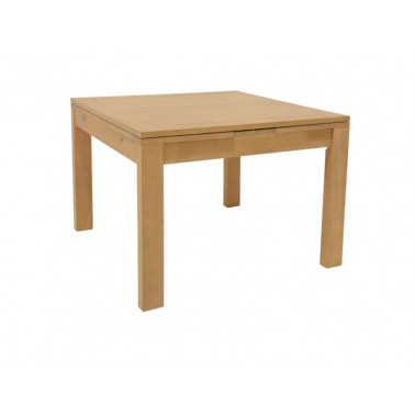 Extendable dining table | 100 up to 180x100 cm