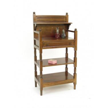 Mini makeup rack with 1 drawer