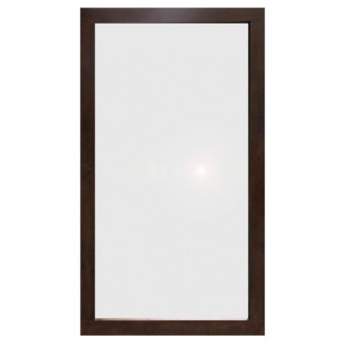 HONG KONG | Mirror with hevea frame