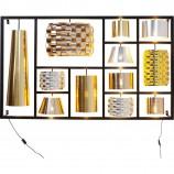 Wall Lamp Parecchi Glamour Black Big – KARE DESIGN