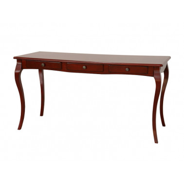 Secretary desk with curved...