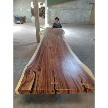 Acacia Slab 430 x 118_89_105 cm Resin