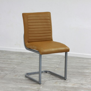 NEW SABINA | Chair in buffalo leather