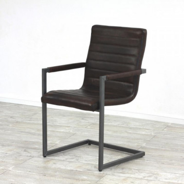WAVE | Armchair in buffalo leather