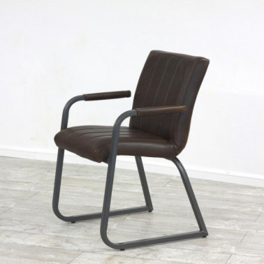 NEW SAFIRA HL | Armchair in buffalo leather