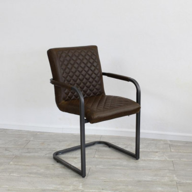 NEW MARY | Armchair in buffalo leather